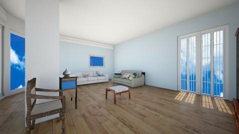 Living9 - Living room - by hala amroussy