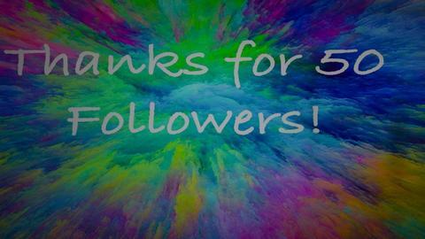 Thanks for 50 followers - by cagla_deniz_