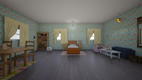 the childs old bedroom - Bedroom  - by 29catsRcool
