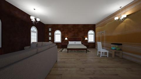 Independent Living Proj - Modern - Bedroom  - by npaul1411