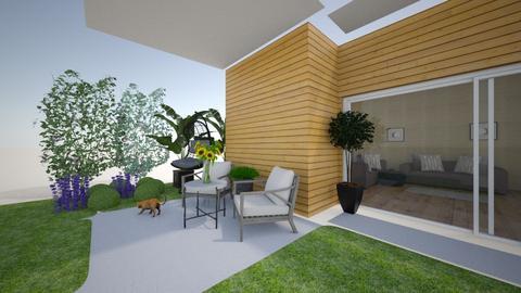 un   - Modern - Garden  - by hicran yeniay