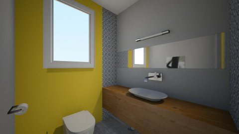Grup sanitar v3 - Minimal - Bathroom - by horo