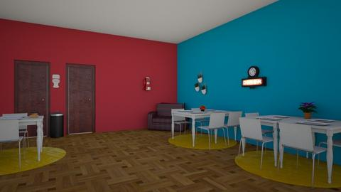 Debbies Diner - Retro - Dining room  - by 29catsRcool
