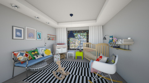 Nursery - Kids room  - by cath09
