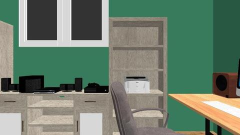 CUARTO - Living room - by DR0K19K