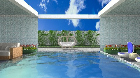 Private Pool - Classic - Garden  - by wiljun
