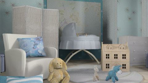 aquarelle - Eclectic - Bedroom  - by chania