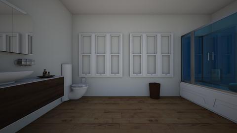 Bathroom BluePrint1 - Bathroom  - by MarisaG