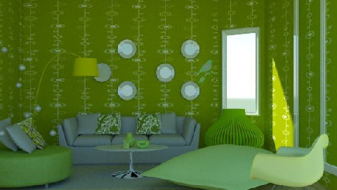Limon Living - Retro - Living room  - by brittanysteiger