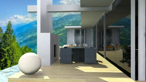 CASA DE CRISTAL  - Modern - Kitchen  - by ARMIDA 1