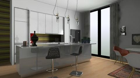 Our Kitchen  - Eclectic - Kitchen  - by katarina_petakovi