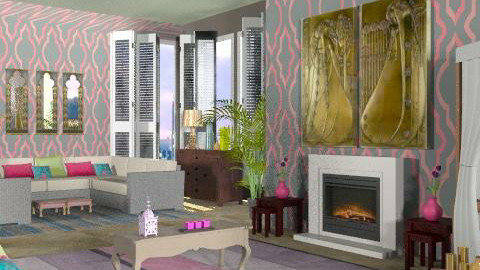 plan4/un/f - Glamour - Living room - by marti29