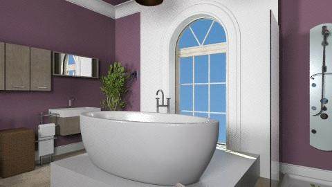 Cool modern bathroom  - Classic - by calu13