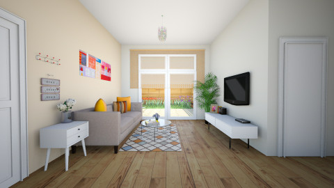 melody Living room2 - Modern - Living room - by chenlei