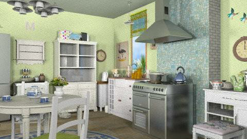 Kitchen - Rustic - Kitchen  - by iwoolnough