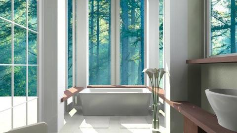rmx forest - Bathroom  - by mikaela7