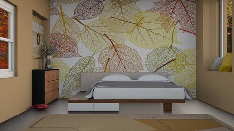 Autumn Pattern - Bedroom  - by caidyleigh