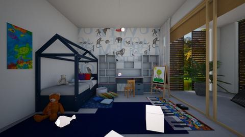 Zen_kids room2 - Kids room  - by lovasemoke