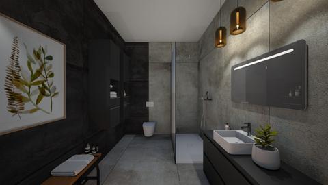 Bath 1 Front - Bathroom  - by Keeratiwat
