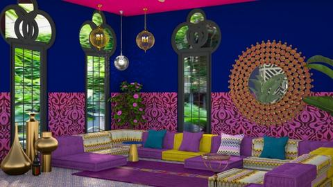 Indian colour - Global - Living room  - by kitty