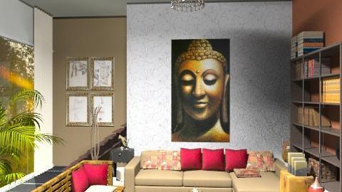 Zeen. Apartament - Rustic - Living room  - by sahfs