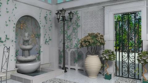 French Outside Garden - Modern - Garden  - by rampage