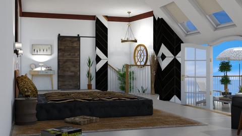attic bed - Office  - by nat mi