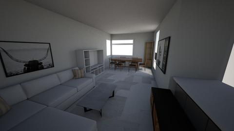 Salon_3 - Living room  - by krystek