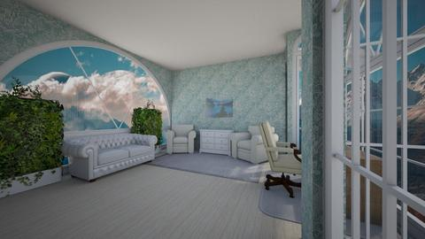 The rocky mountains - Bedroom  - by bintia c