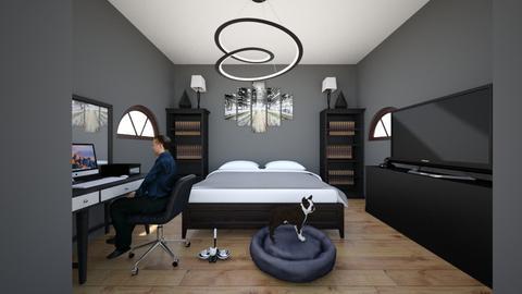 Dad Bedroom - Bedroom - by MinieMouse