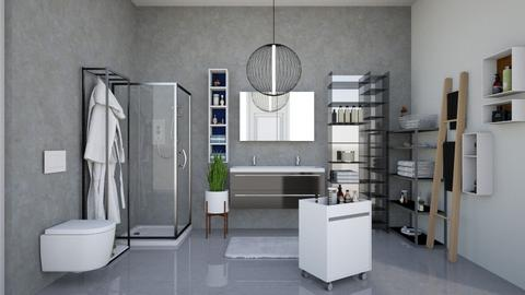 not so bad - Modern - Bathroom  - by martinini