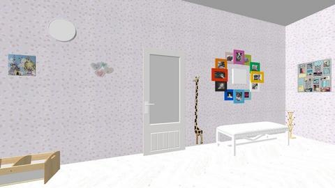 pasillo 1 - Kids room  - by Babysitters