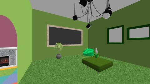 green - Living room  - by 610223