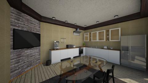 Kitchen - Modern - Kitchen - by Martynas Krikstanavicius