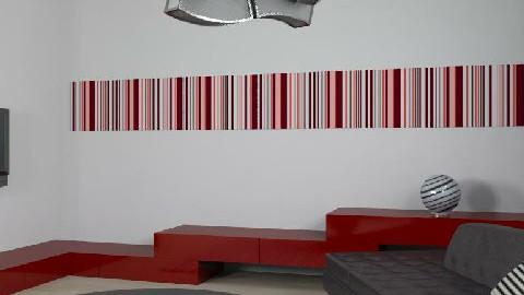 stripe - Minimal - Living room - by Natasa_M
