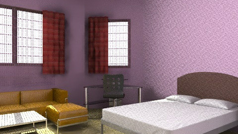 Zoey 101 Girls Dorm - Retro - Bedroom  - by jcperez6