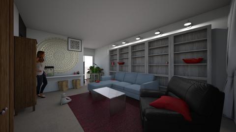 cummins ln - Living room - by naumankm
