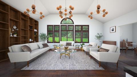 Paula Okin Entry_LivingRm - Living room - by Jhebert