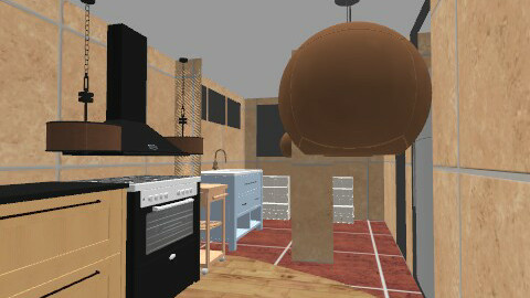 Kit 2 - Rustic - Kitchen  - by colibri