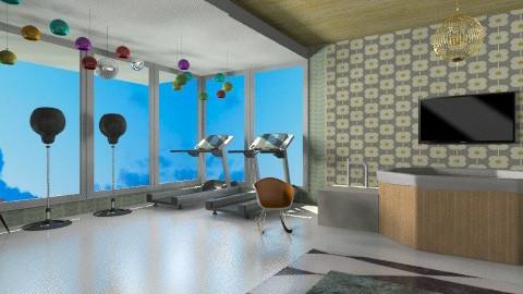 Pop art gym  - Modern - by bethany81