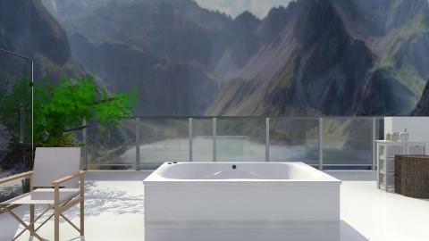 Mountain Bathroom - Bathroom  - by AnnaMull