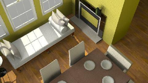 Project1e - Dining Room  - by katushka888
