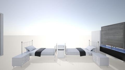 Dorm ASTATE - Bedroom  - by carolmendz