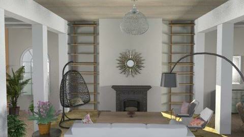 Calm living - Eclectic - Living room  - by toadfool