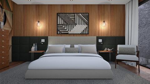 bedroom - by TTD