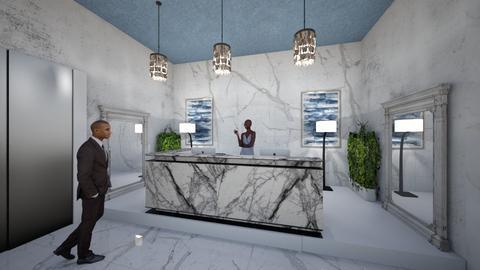 Hotel_Reception_Lounge_ - Classic - Living room  - by Nikos Tsokos