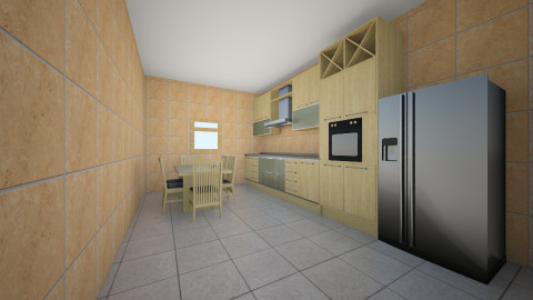 Bucatarie 5 - Rustic - Kitchen  - by Ionut Corbu