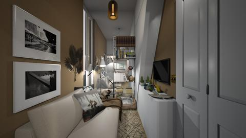 Casa385LivingArea - Eclectic - Living room  - by nickynunes