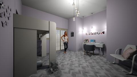girls bedroom - Bedroom  - by pandamasterwon