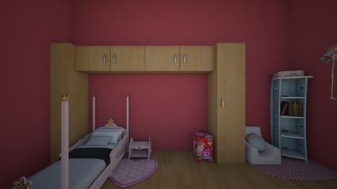 girls bedroom randomised - Kids room  - by authentic